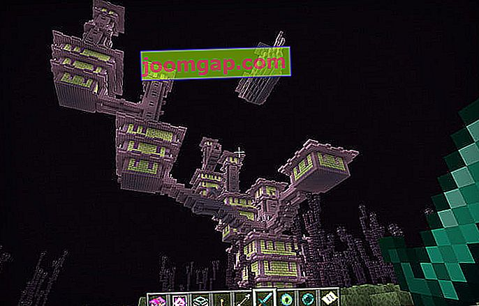 Minecraft End City abgeschnitten