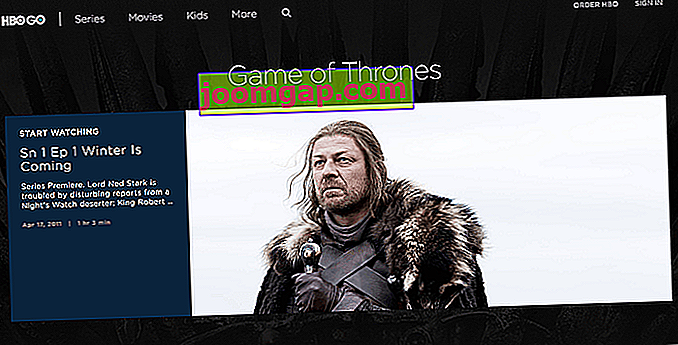 Wie man Game of Thrones online sieht HBO Go