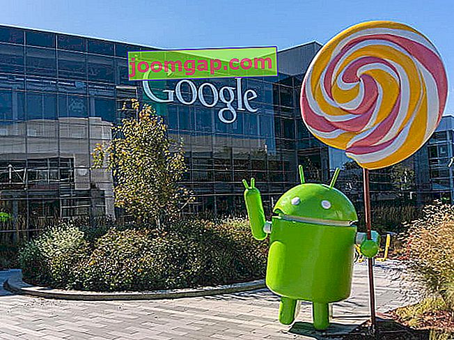 Android Lollipop bei Google HQ