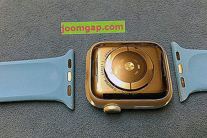 Apple Watch Band getrennt