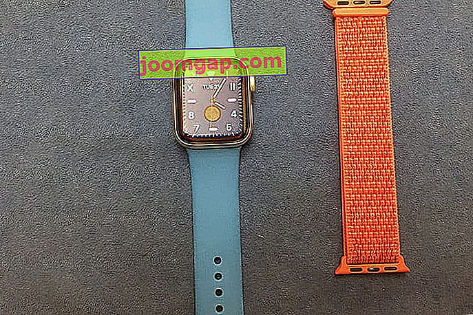 Apple Watch Band eingerichtet