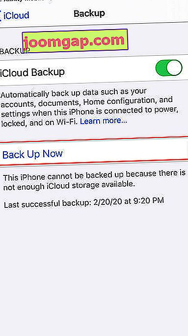 So passen Sie Ihr iPhone-Backup in icloud idrive4 an