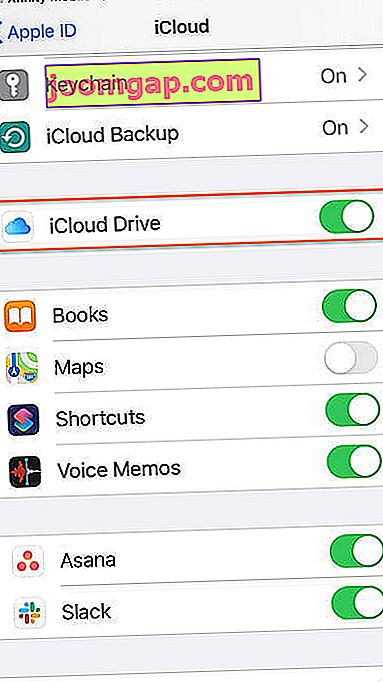 So passen Sie Ihr iPhone-Backup in icloud idrive5 an