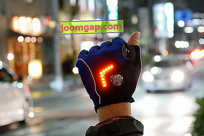 テクノスレッド--- Zackees-Turn-Signal-gloves