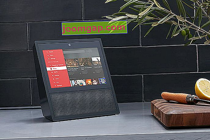 Amazon Echo Show Youtubeアプリ