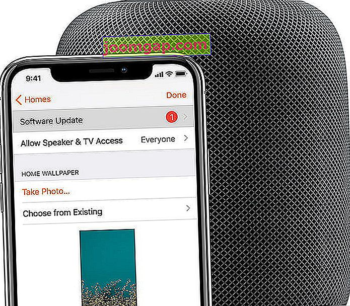 HomePod und iPhone
