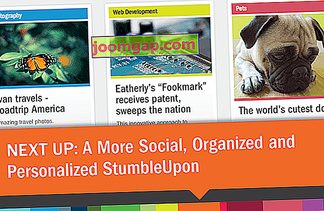 stumbleupon redesign