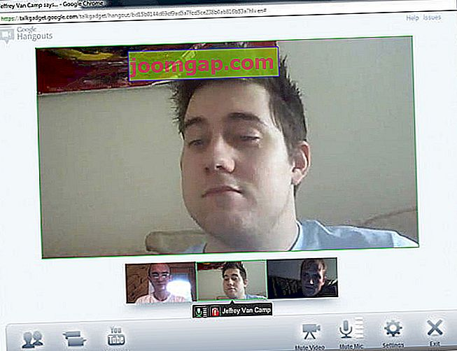 Google Plus Hangout-Video-Chat