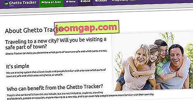Ghettotracker-Original-Homepage